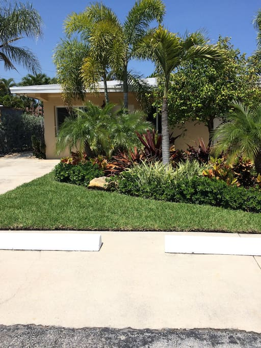 Landscaping and Parking