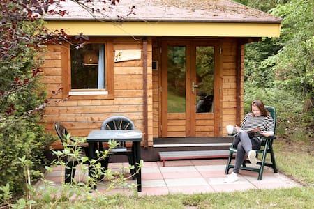 Comfortabele blokhut in de Brabantse natuur