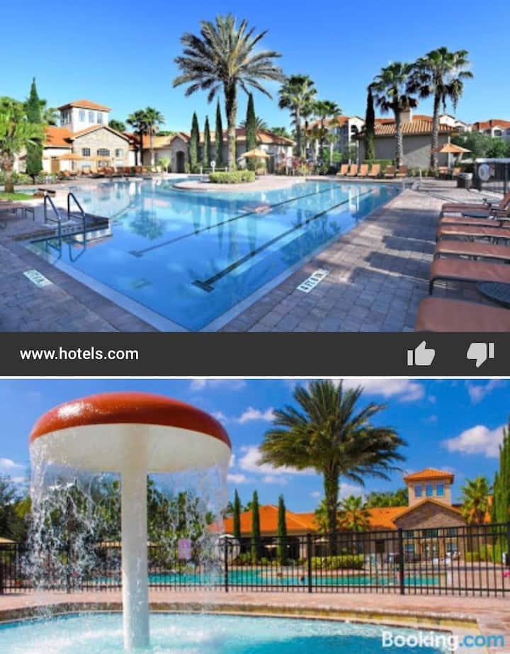Beautiful condo in Tuscana four star Resort.