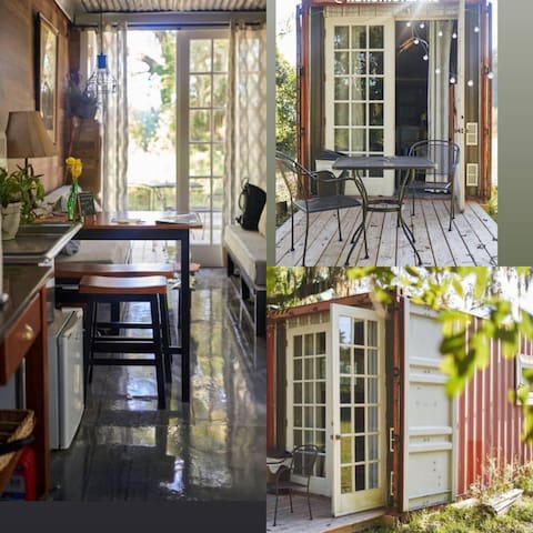 Eco/Nature lover/Artist cabin peaceful getaway
