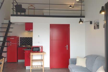 Studio neuf  22m2 + mezzanine 9m2 - Salles-sur-Mer - Condominium