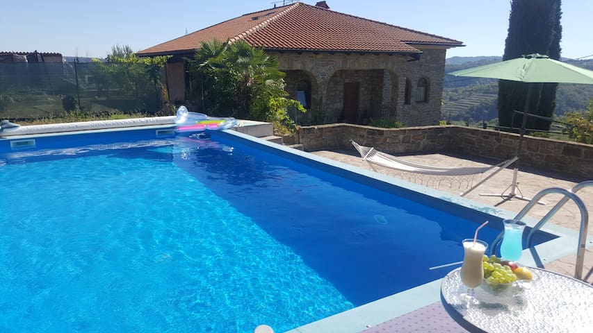 Izola,  Premium house with pool