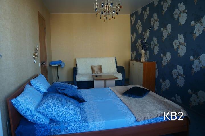 Чистая уютная квартира у парка Комсомольский район