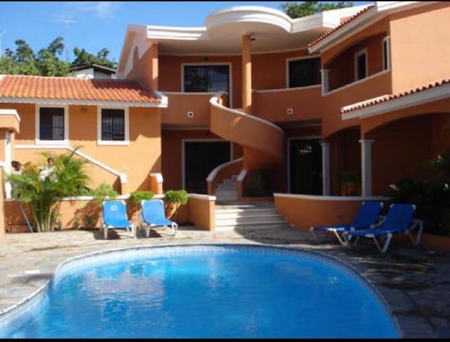 Apartamento con piscina, BocaChica - Boca Chica - Appartement