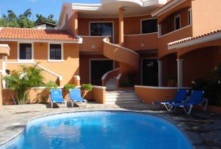 Apartamento con piscina, BocaChica - Boca Chica