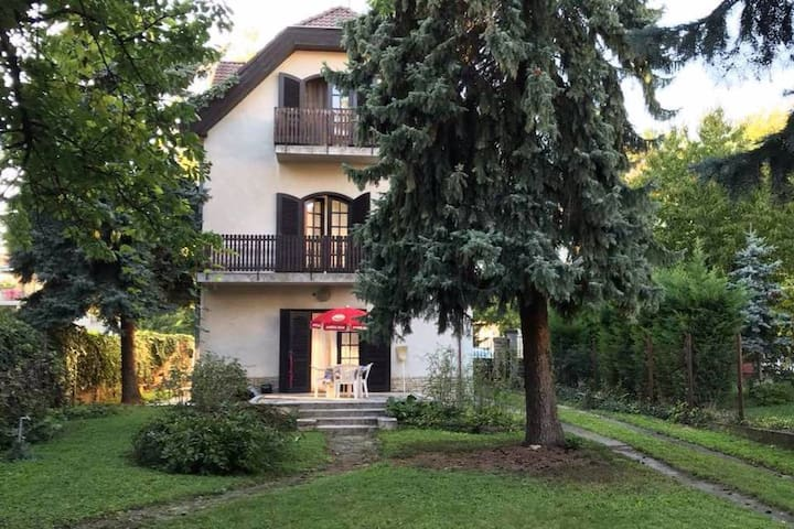 HUGE  house with charming garden and FREE parking