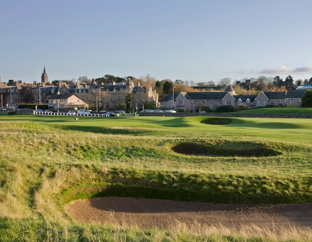 1 Links Crescent ( The house behind to the left of the 17th Flag on The O;ld Course)