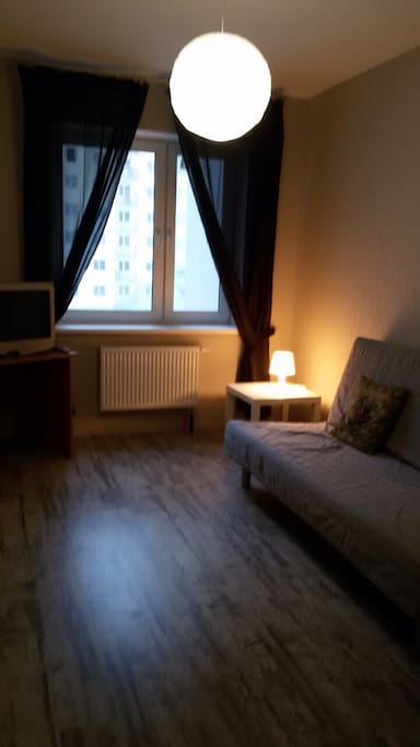 Комната с раскладным диваном