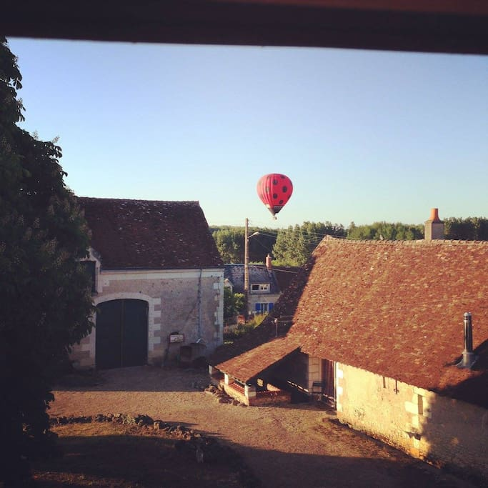 The area is so lovely, people gaze upon it from a balloon..Every summer night they fly over our house.