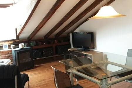 Cosy Semi-Penthouse in Santander Center - Appartement