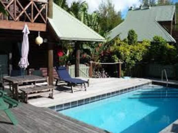 Sokala Villas - Lagoon view villa with pool