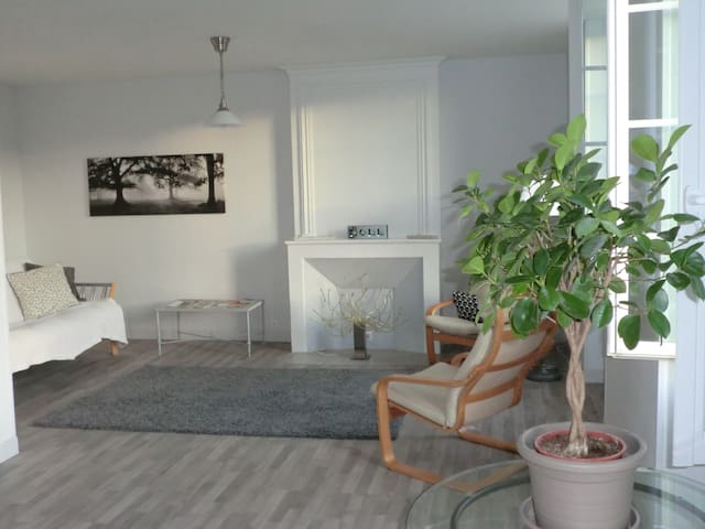 Light and airy apartment with charm - Barbezieux-Saint-Hilaire - Wohnung