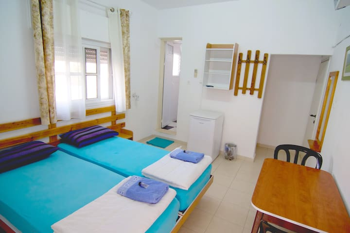 Bright and airy room , and very clean