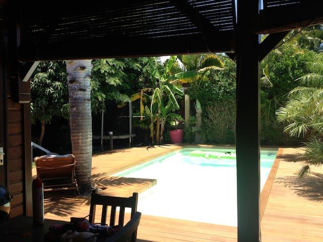 Charming villa wooden Creole style. - Saint Pierre - Villa