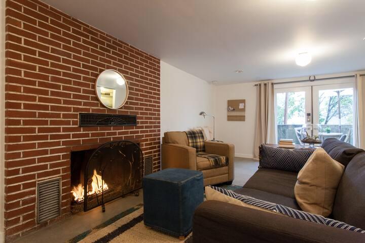 Cozy, Luxe Studio + City Bikes - Portland - Apartment