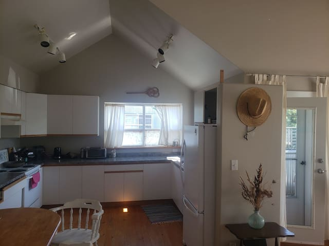 Bright open loft