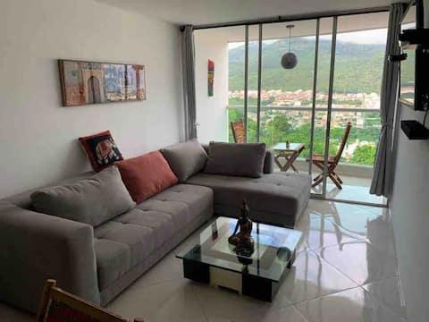 Apartamento en San Gil con hermosa vista.