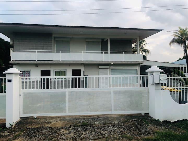 Appartement familial, la Madeleine, Cayenne Guyane