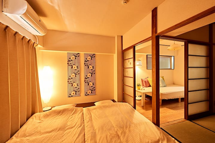 B New Open★Central Tokyo★Free wifi - Shinagawa-ku - Appartement
