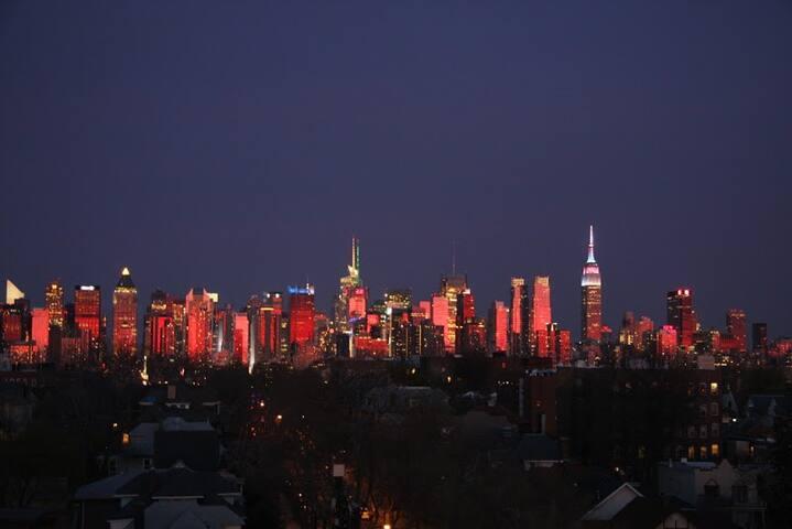 Sunset of NYC