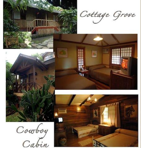 Tagaytay highlands , cottage+pool - Tagaytay - Cabane