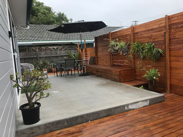 Patio/decking area