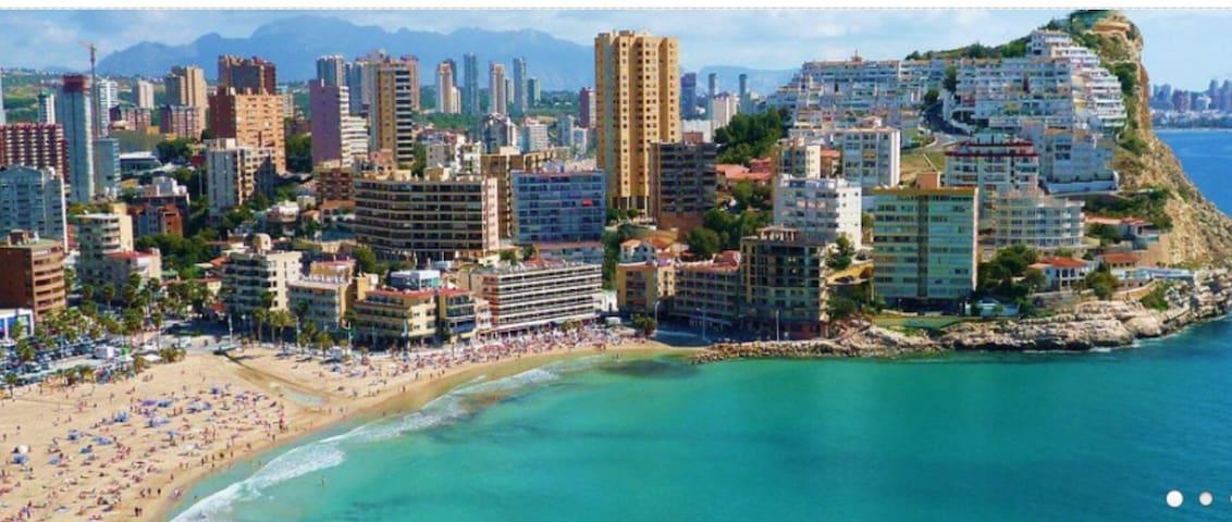 LuxBenidorm:  La Cala Beach, WI-FI, Parking