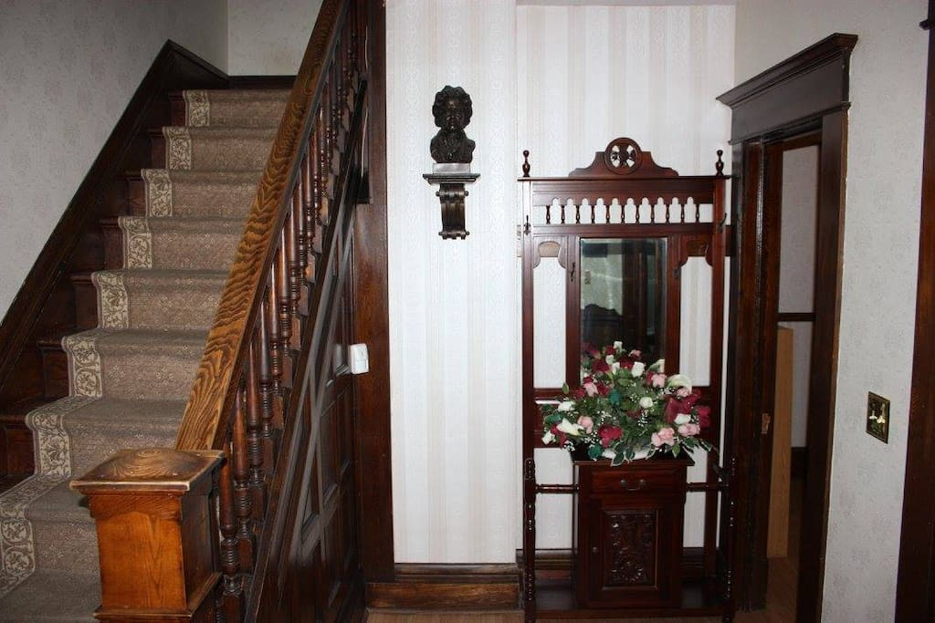 Front hall way