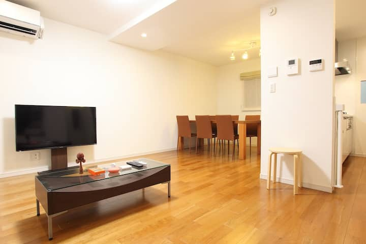 3LDK/New/Functional House in central Shinjuku.