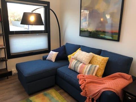 5 Star 🌠 New Loft Condo Near Downtown. Immaculate