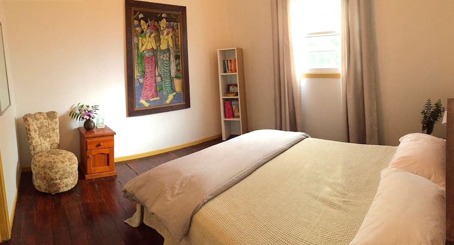 Queen Room at Kyogle Country Bliss House - Kyogle - Hus