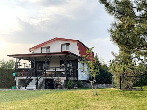 Casa rural junto al lago en Masuria, Polonia