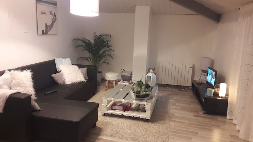 Appartement hypercentre avec grande terrasse.