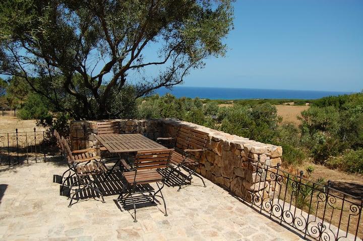 Sardinia, Costa Verde, Piscinas/Scivu, at the sea