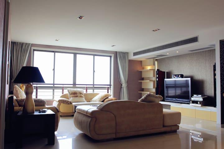 万科270平高层观景公寓 相伴蠡湖 社区便利 大剧院 万象城均在1.5公里内 - Wuxi - Διαμέρισμα