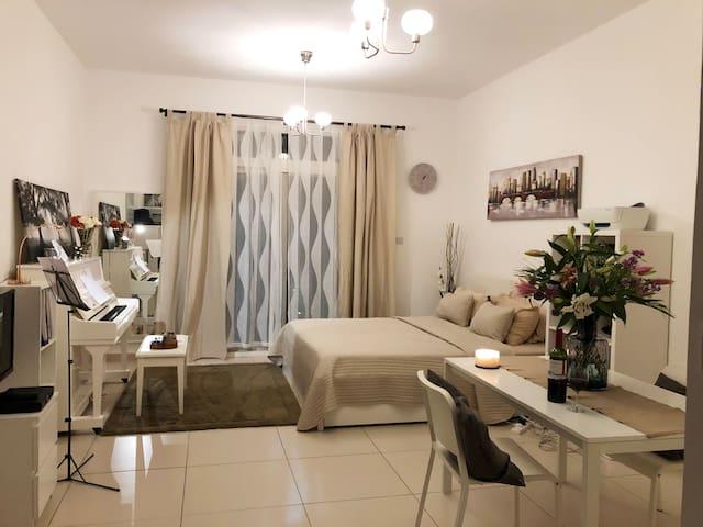 Al Ghadeer Studio - Center of Dubai & Abu Dhabi