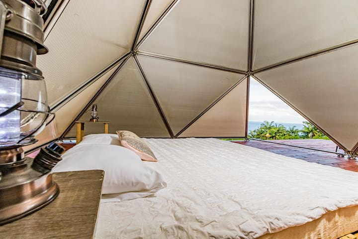Glamping Pyramid | Yoga and Breakfast Included