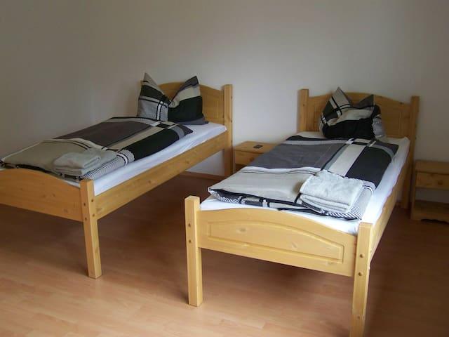 Geräumiges 2-Bettzimmer im Hostel
