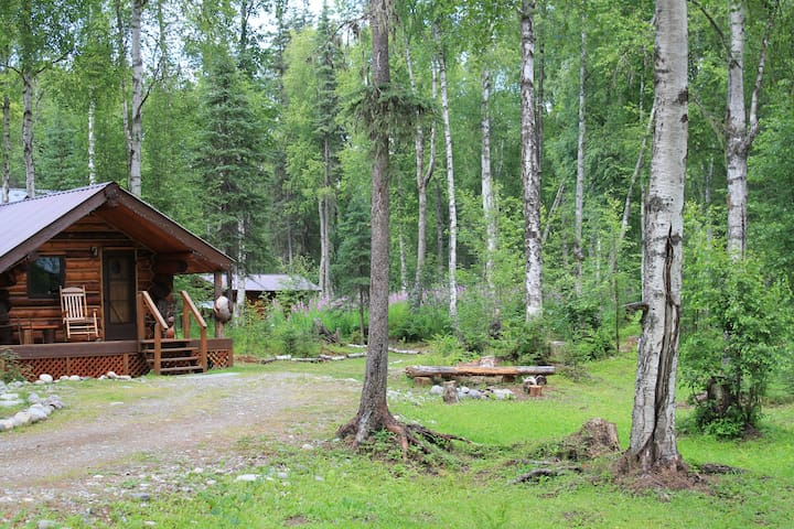 Cozy Moose Cabin