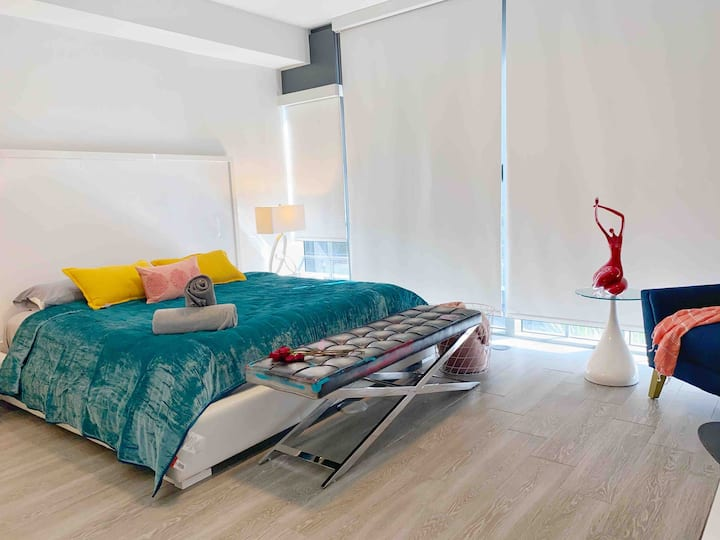 Luxury Studio in the Heart of Wynwood Free parking