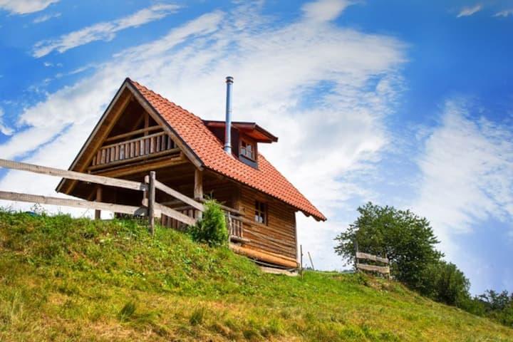 Ranč pri Geti - wooden log for 5 persons