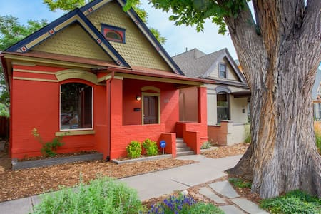 Historic Victorian 1Bd/1Bh near heart of DT Denver - Denver - Casa