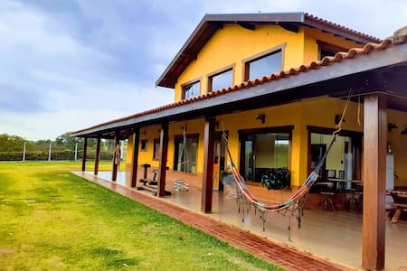 Casa de Campo encantadora para família e amigos