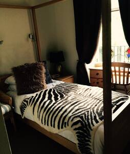 Lovely Single Room in West End - กลาสโกว์ - ที่พักพร้อมอาหารเช้า