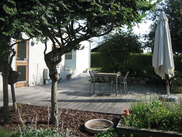Arkitekttegnet hus - Snekkersten - Huis