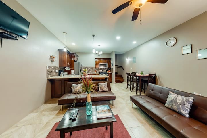 Stylish apartment and studio with WiFi, partial AC, patio, and gated entrance