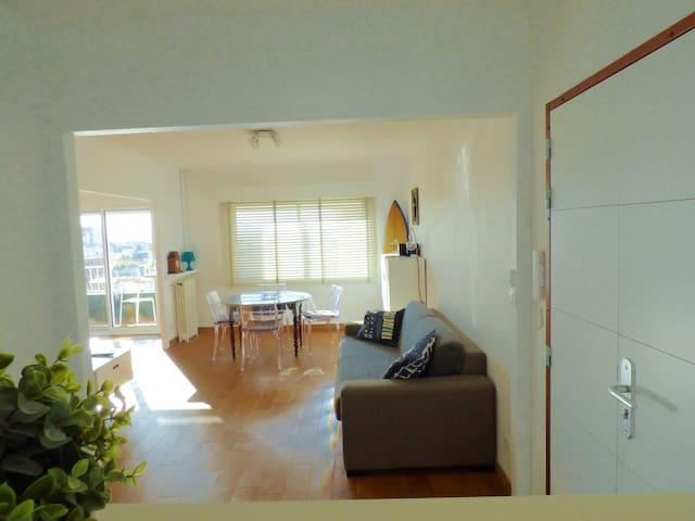Appart 58 m² rénové, 150 m des plages du Mourillon - Toulon - Flat