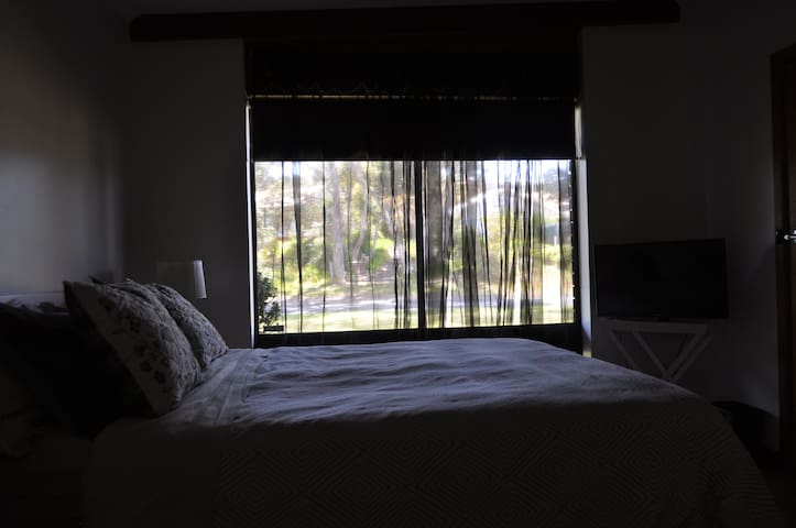 Rest in a Lux Queen Size bed with TV, Wifi and private en suite bathroom with walk in shower