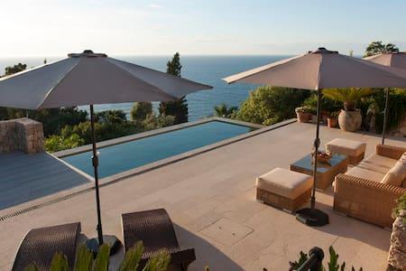 Villa near Deia with sea views and private pool - Deià