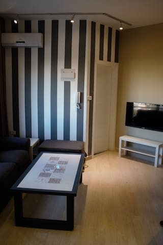 One bedroom, furnished stylish apartment